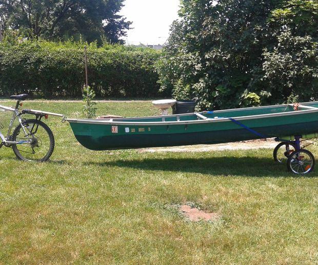 Bicycle Canoe Cart 2.0