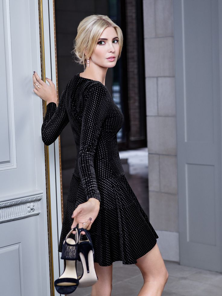 Ivanka Trump Fall 2015 Campaign