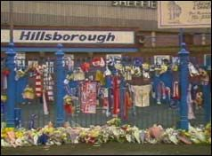 28th March 1991 - jury returns a verdict of accidental death at the end of the inquest into the Hillsborough disaster in which 95 football fans died.