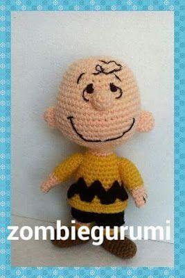 Amigurumis: Patrón gratis Charlie Brown amigurumi...
