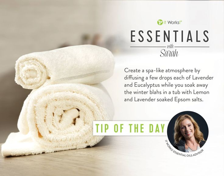 Wind down your evening with this perfect tip from Sarah ! #WeMakeOilsCool