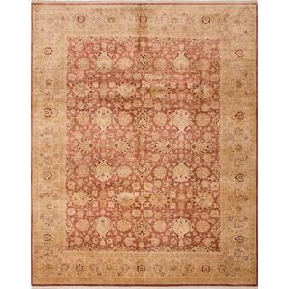 Shop for Ecarpetgallery Hand-knotted Peshawar Oushak Brown Wool Rug (7'11 x 9'11). Get free shipping at Overstock.com - Your Online Home Decor Outlet Store! Get 5% in rewards with Club O!