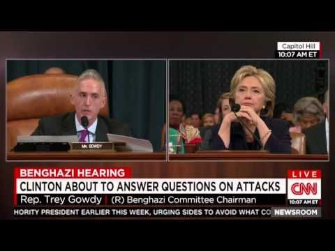 10-22-2015  Trey Gowdy tears into Hillary Clinton at Benghazi hearing | Conservative Republican News