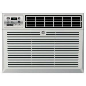 window ac unit with remote white