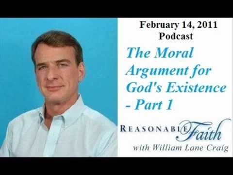 Moral Argument For God - Part 1 - William Lane Craig - YouTube