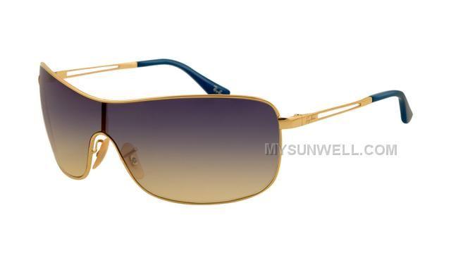 http://www.mysunwell.com/ray-ban-rb3466-sunglasses-gold-frame-purple-gradient-yellow-lens-for-sale.html RAY BAN RB3466 SUNGLASSES GOLD FRAME PURPLE GRADIENT YELLOW LENS FOR SALE Only $25.00 , Free Shipping!