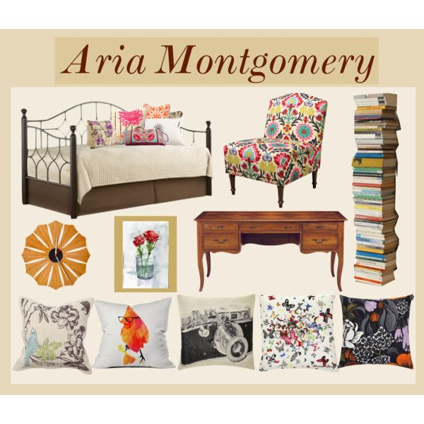 Pretty Little Liars Room Inspiration: Aria Montgomery