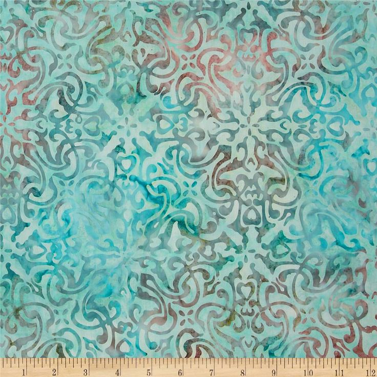 Artisan batik noel 2 tinsel pastel aqua quantumskins for Pastel galaxy fabric