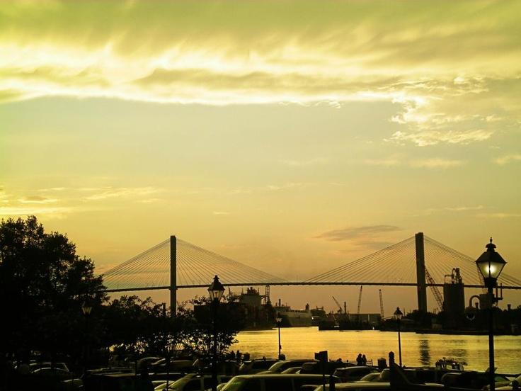 Savannah Skyline by Selena Buckner