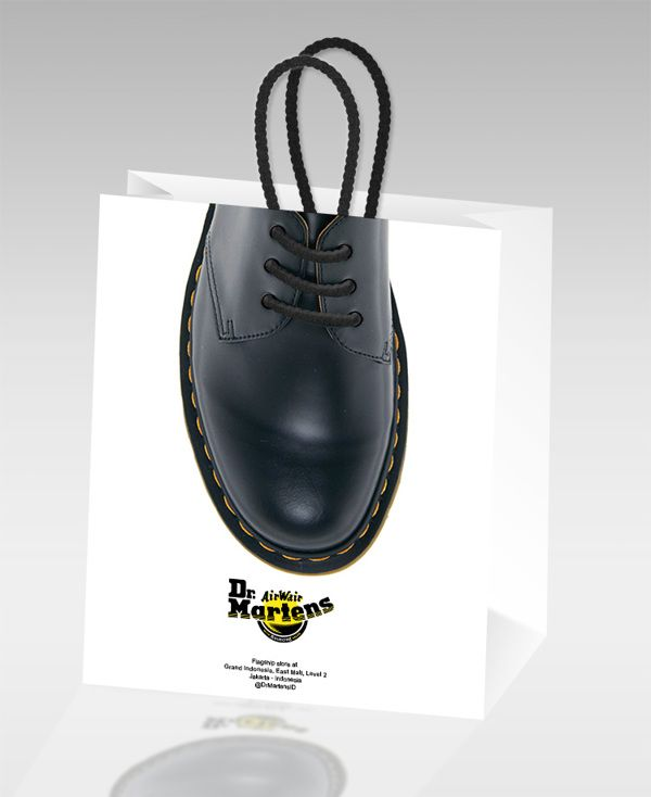 Dr.Martens Paper Bag on Behance