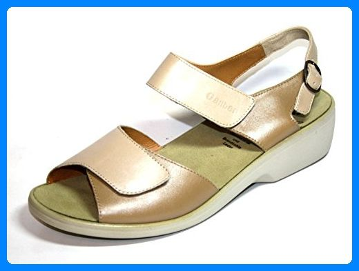 Ganter Hanna 1-203130 Damen Schuhe Sandalen, Weite H (EU 42 UK 8, Beige (sand/creme)) - Sandalen für frauen (*Partner-Link)