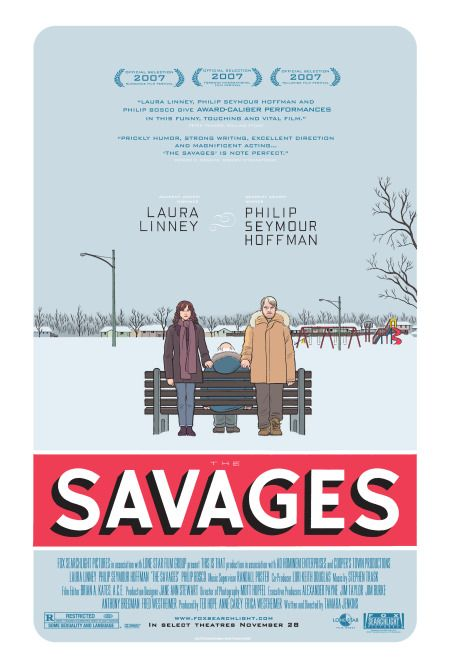 Directed by Tamara Jenkins.  With Laura Linney, Philip Seymour Hoffman, Philip Bosco, Peter Friedman. A sister and brother face the realities of familial responsibility as they begin to care for their ailing father.