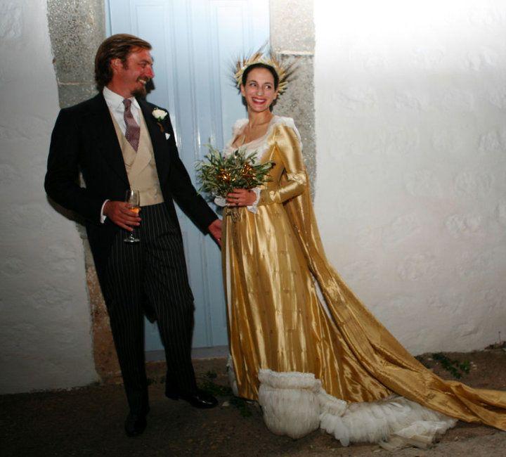 Aimone Of Savoy-Aosta And Olga Of Greece.