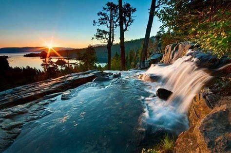 Eagle Falls - South Lake Tahoe , California