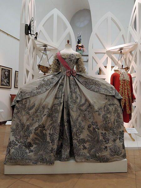 Replica Of Catherine IIs Wedding Dress 1745 By MKhT School Studio