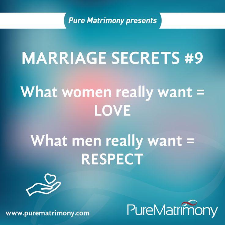 Women Want Love, Men Want Respect 1