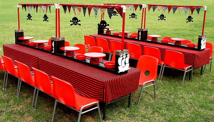 Image detail for -Ahoy! Pirates party decor hire packages