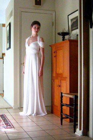 Infinity dress tutorial plus size