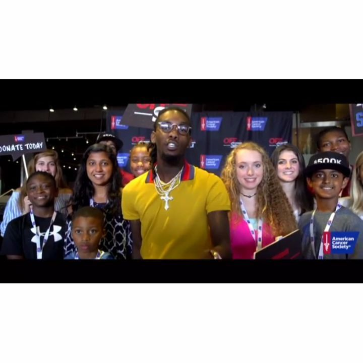 #NEWS: Rapper Offset Launches $500K Fundraising Campaign for the American Cancer Society  Rapper Offset Launches $500K Fundraising Campaign for the American Cancer Society Atlanta artist's fundraising campaign to benefit underserved communities across the country... Log On #HipHopOnDeck.com to find out more!