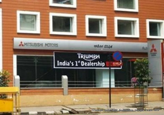 Triumph Motorcycles India first dealership to open in Bangalore Read more at http://www.rushlane.com/triumph-motorcycles-bangalore-1295702.html#zhYjTZar5iq0mLL7.99