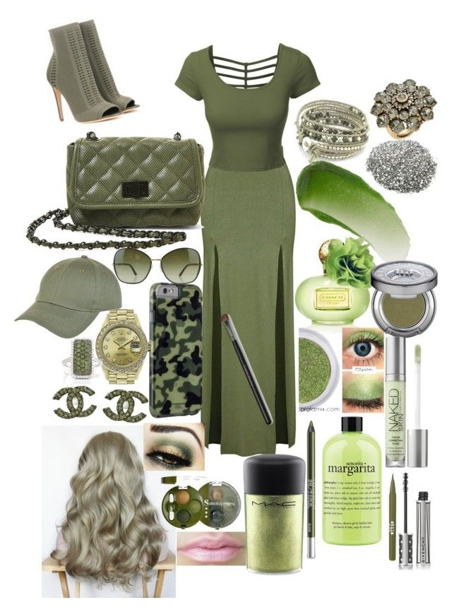 """""""Camouflage #2💚"""" by lilyalicewalker ❤ liked on Polyvore featuring Gianvito Rossi, Topshop, LE3NO, Steve Madden, New Look, Tom Ford, Case-Mate, Rolex, Chanel and Oscar de la Renta"""