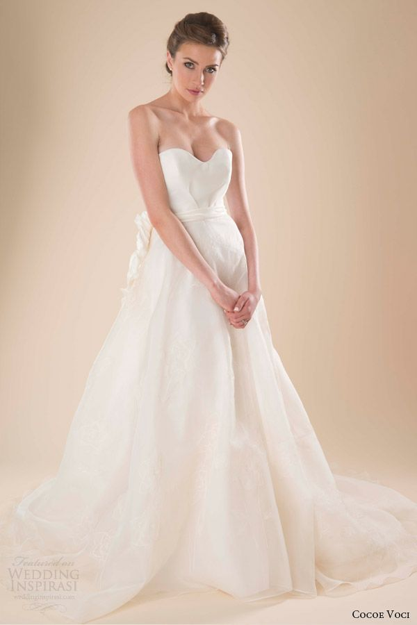 Cocoe Voci Spring 2014 Wedding Dresses | Wedding Inspirasi | Page 2
