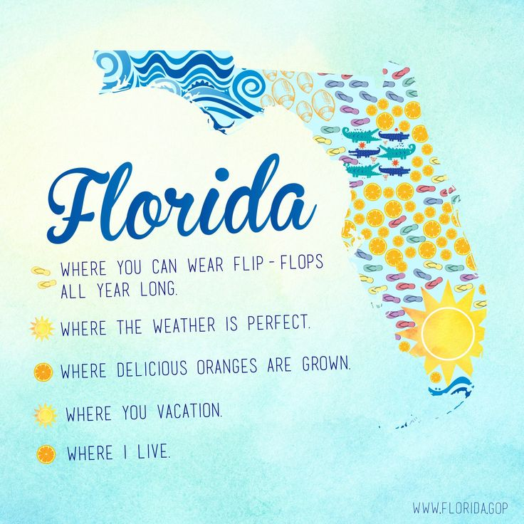 Best Sunny State Of Mind Images On Pinterest Florida - Where is florida
