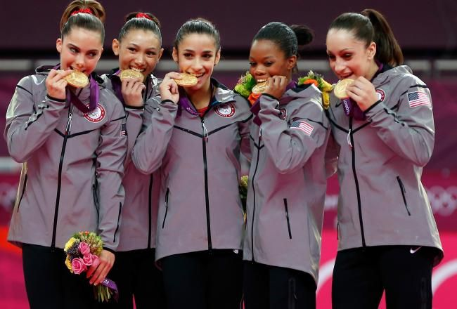 Women's Gymnastic #TeamUSA wins Gold! #Olympics