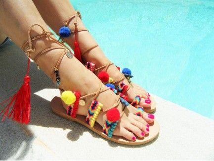 Gladiator Bohemian Sandals