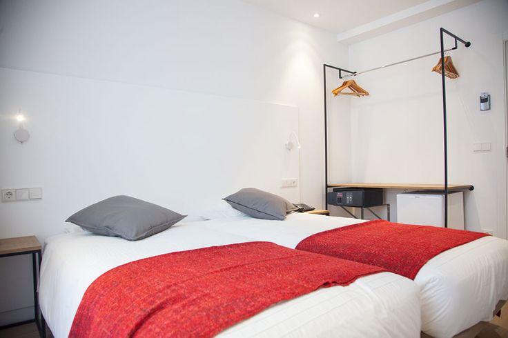 Deluxe double room with balcony - Pensión Bule ** San Sebastián