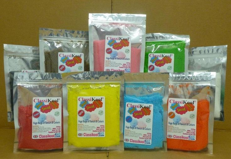 Classikool Instant Floss 250g PINK: Strawberry Flavour Candy Floss Sugar for Machines [Free UK Post]