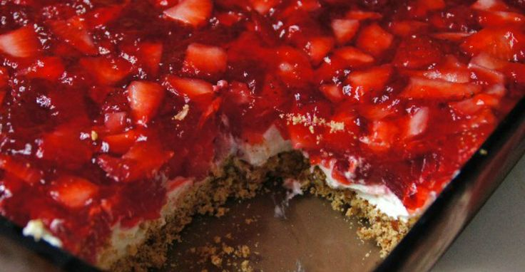 Stir Up Some Smiles With this Yummy Strawberry Pretzel Dessert