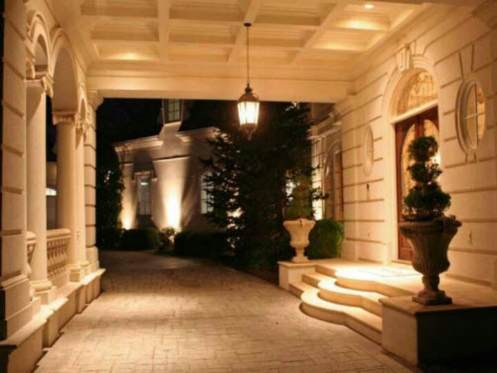 Drive Thru Driveway Porte Cochere Dream House Exterior