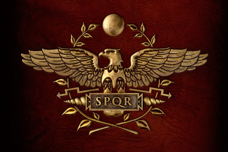 senatus populusque romanus symbol of roman empire the