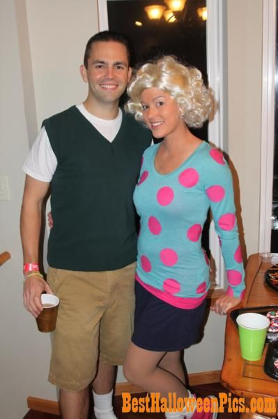 Doug Funnie and Patti Mayonnaise costume! | Costumes ... Quailman Doug Costume