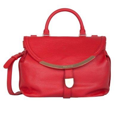 See by Chloé red handbag