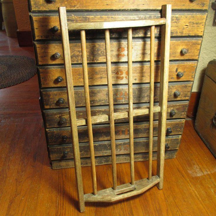 Granny's Old Vintage Wooden Farmhouse Drying Rack #HannahsHouseAntiques #RubyLane https://www.rubylane.com/item/497177-9501/Grannyx27s-Vintage-Wooden-Farmhouse-Drying-Rack