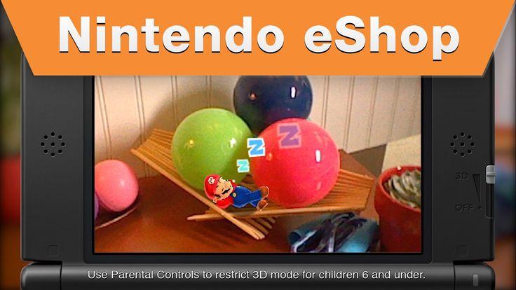 Nintendo eShop - Photos With Mario Trailer  http://www.videogamingvault.com/nintendo.html  #mario #videogame #trailer