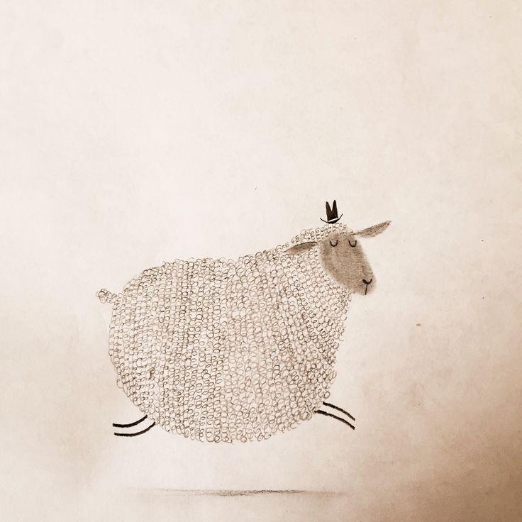 Prancing sheep