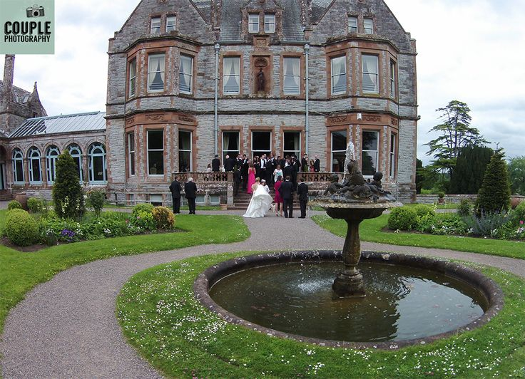 Drone Photography by Couple Photography Castle Leslie weddings  http://www.couple.ie/2015/07/michele-ross-castle-leslie-estate/