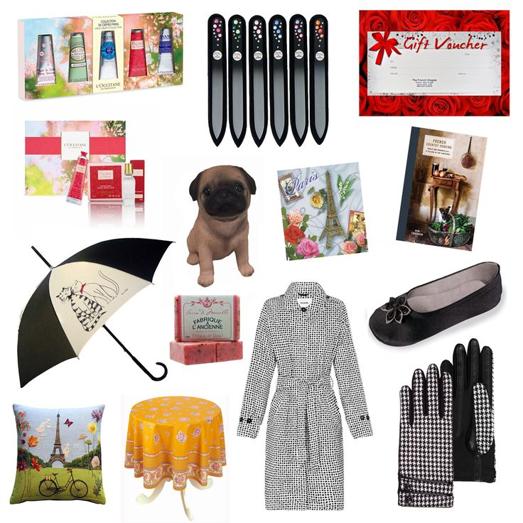 We've added a brand new page to our online boutique especially for #mothersday   #giftideas #loccitane #umbrellas #pug #tablecloth #nailfiles #slippers #frenchsoap #books #raincoat