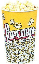 Yellow Popcorn Cups