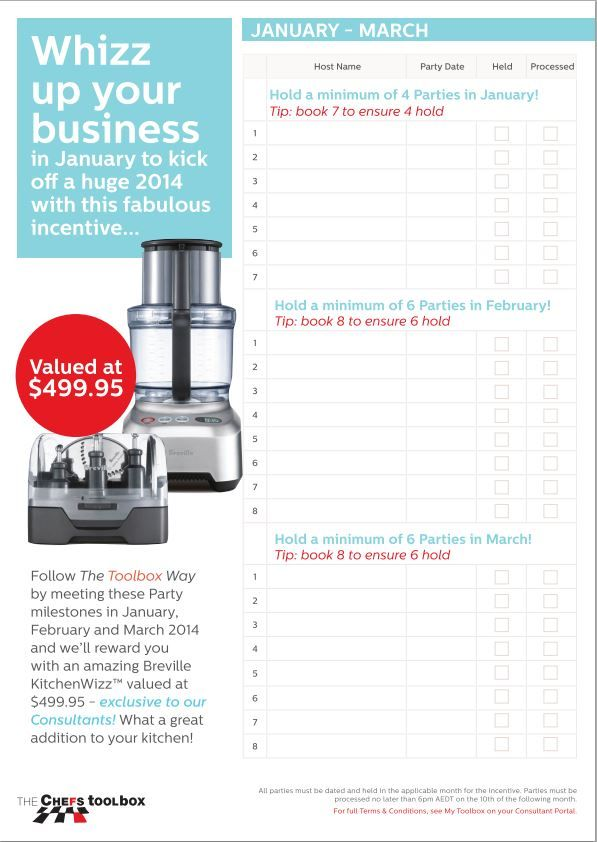 January, February and March 2014 Consultant incentive. Makes loving what I do even better again.