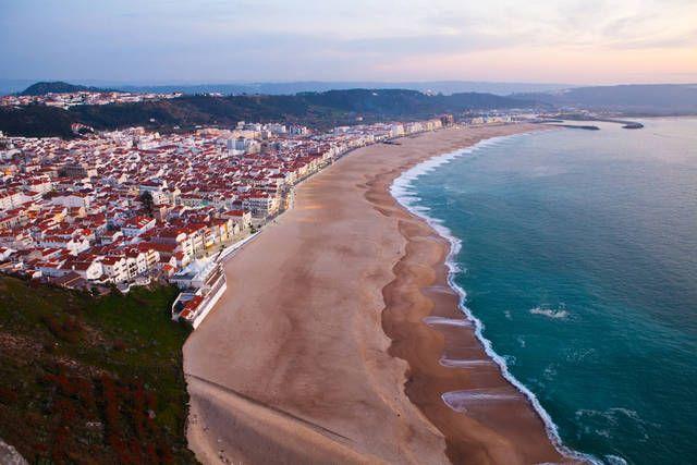 Spiagge Piu Belle Del Portogallo Nazare Centro Portugal In