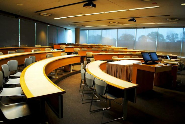 A small seminar room at Schulich School of Business