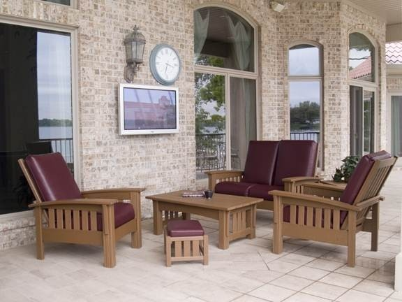 Polywood All Weather Mission And Craftsman Style Furniture. Like This Color  Combination? There Are