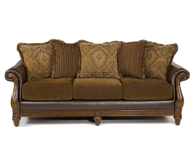 Leather Sofa With Fabric Cushions Leather Couch Cushions