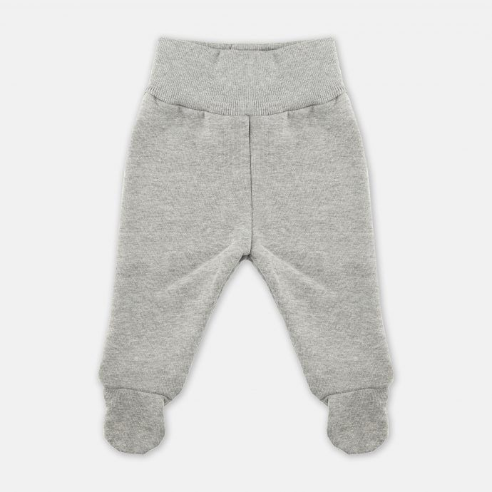 spodnie dresowe stopy szare