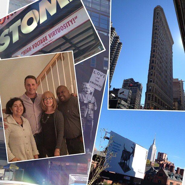 #instagramELE #regalo  El mejor regalo que se puede tener: pasar un día estupendo en NYC con buenos amigos.