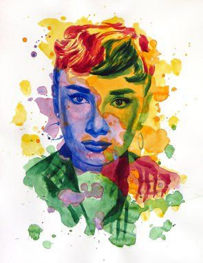 Photo of The power of color - Audrey Hepburn